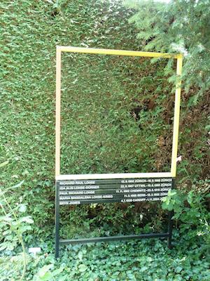Grabmal von Richard Paul Lohse, Friedhof Sihlfeld