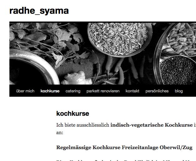 Radhe Syama, Blog